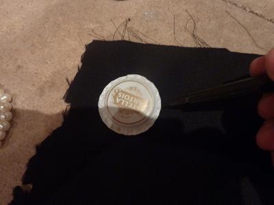 How to make a bottle cap pendant. Vintage Look Bottle Top Locket - Step 10