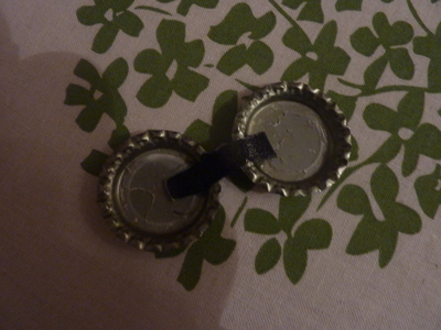 How to make a bottle cap pendant. Vintage Look Bottle Top Locket - Step 14