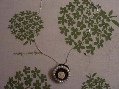 How to make a bottle cap pendant. Vintage Look Bottle Top Locket - Step 18
