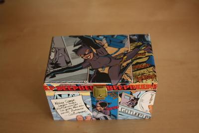How to make a decoupage box. Comic Box - Step 8