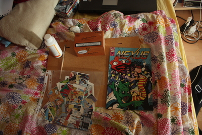 How to make a decoupage box. Comic Box - Step 1
