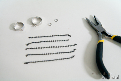 How to make a chain ring. Chained Rings - Step 2