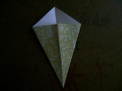 How to fold an origami bird. Origami Swan - Step 3