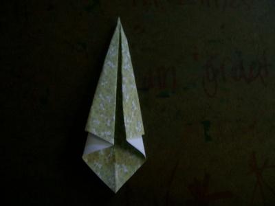 How to fold an origami bird. Origami Swan - Step 4