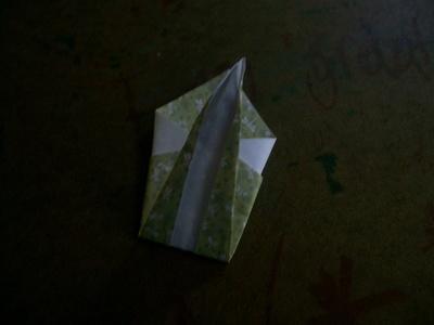 How to fold an origami bird. Origami Swan - Step 5