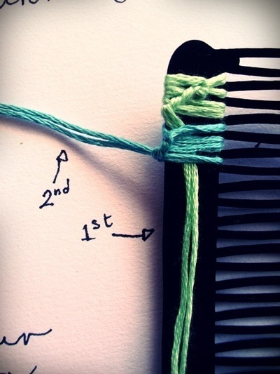 How to make a hair comb. How To Make A Hairclip Not Boring - Step 12
