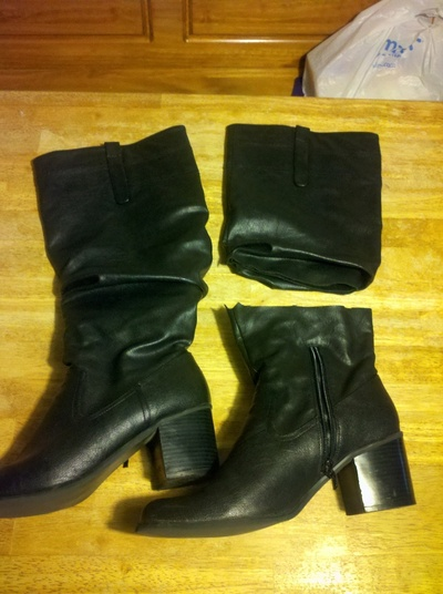 How to make a pair of furry boots. Fur Boots - Step 1