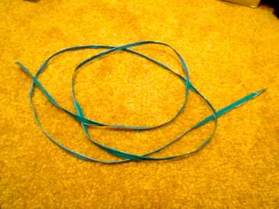 How to make a shoe lace. Duct Tape Shoelaces - Step 9