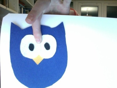 How to make a bird plushie. Cute Owl - Step 2