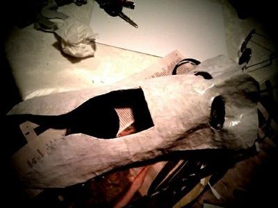 How to make a masquerade. Bioshock Splicer Mask - Step 4