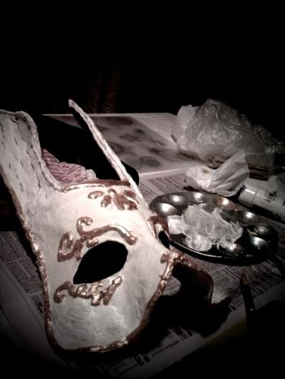 How to make a masquerade. Bioshock Splicer Mask - Step 5