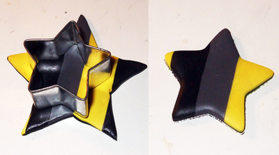 How to make a hair clip / barrette. Marc Jacobs Inspired Star Hair Clips - Step 4