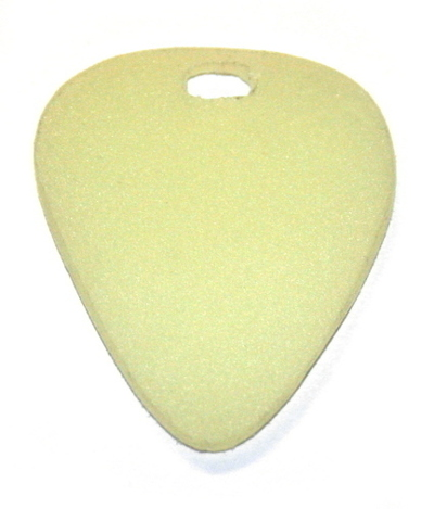 How to make a guitar pick pendant. The Easiest Fully Functional, Adjustable, Glow In The Dark Pick Necklace! - Step 3