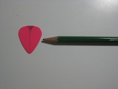 How to recycle a guitar pick bracelet. Braided Guitar Pick Bracelet - Step 1