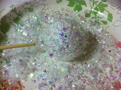 How to make a Christmas decoration. Cupcake Ornament - Step 4
