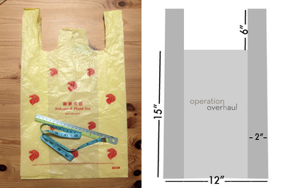 How to sew a leather tote. Black Leather Shopping Tote - Step 2