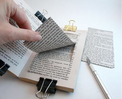 How to make a recycled photo frame. Paperback Picture Frame - Step 5