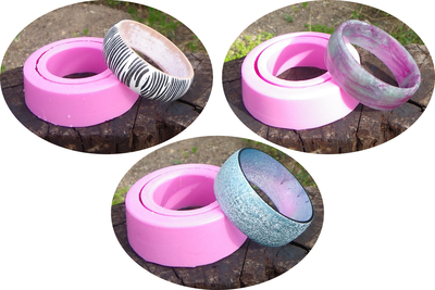 How to make a resin bangle. Diy Resin Casting Bangle Mould - Step 5