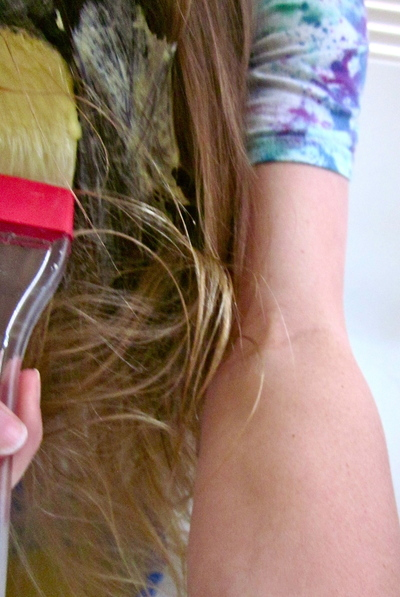 How to make a hair mask. Homemade Mask For Healthy Hair - Step 7