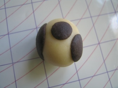 How to make a dessert / sweet. Marzipan Animals - Step 13