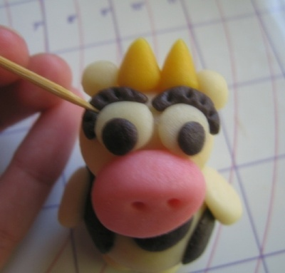 How to make a dessert / sweet. Marzipan Animals - Step 14