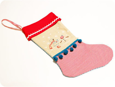 How to make a Christmas stocking. Let's Sew A Christmas Stocking And Add A Unique Embroidery - Step 10