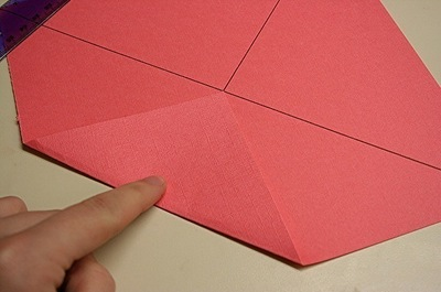 How to fold a paper explosion box. Magic Boxes - Step 2