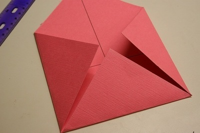 How to fold a paper explosion box. Magic Boxes - Step 3