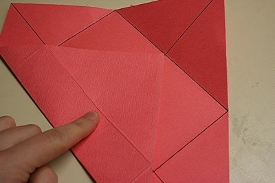 How to fold a paper explosion box. Magic Boxes - Step 5