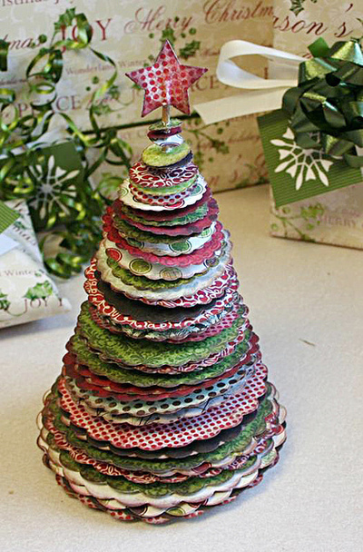 How to make a christmas tree. O Christmas Tree - Step 7