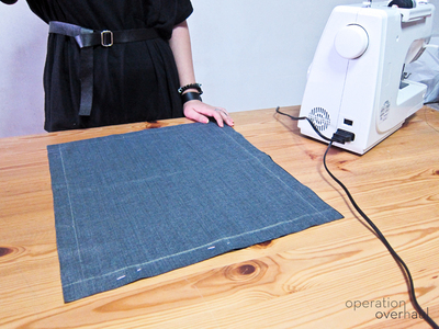 How to sew a leather tote. Every Day Leather Tote - Step 3