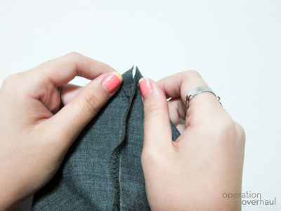 How to sew a leather tote. Every Day Leather Tote - Step 5