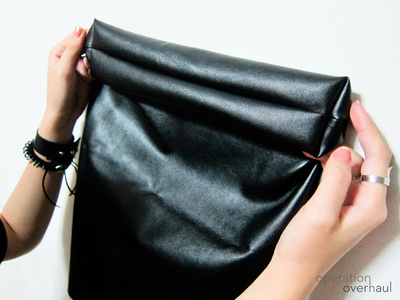 How to sew a leather tote. Every Day Leather Tote - Step 8