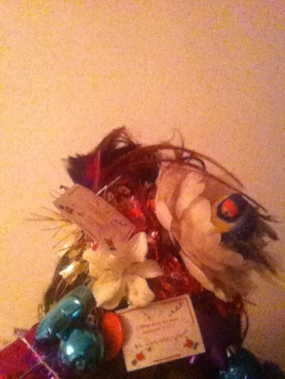 How to make a fascinator. Lovely Festive Hat Thing - Step 3