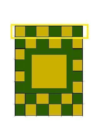 How to make a patchwork quilt. Hand Painted Zelda Themed Quilt - Step 4