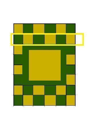 How to make a patchwork quilt. Hand Painted Zelda Themed Quilt - Step 5