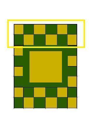 How to make a patchwork quilt. Hand Painted Zelda Themed Quilt - Step 6