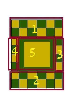 How to make a patchwork quilt. Hand Painted Zelda Themed Quilt - Step 11