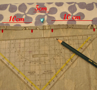 How to make a high-waisted skirt. Paper Bag Skirt Tutorial - Step 7