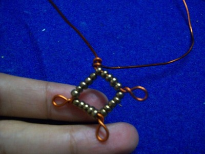 "How to make a pair of chandelier earrings. ""Copperons""  Earrings - Step 9"