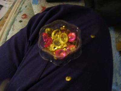 How to make a beads. Nail Polish Gems - Step 1