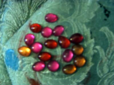 How to make a beads. Nail Polish Gems - Step 4