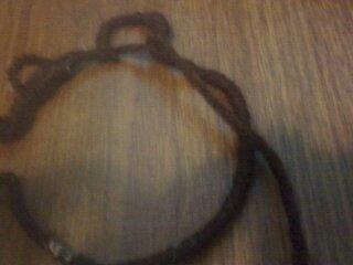 How to make a dream catcher pendant. Bear Dreamcatcher Necklace - Step 8