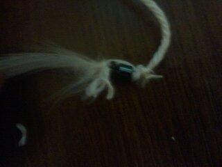 How to make a dream catcher pendant. Bear Dreamcatcher Necklace - Step 19