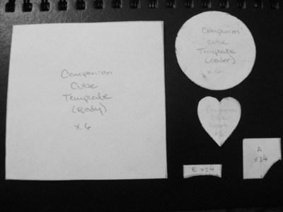 How to make a cube plushie. Companion Cube Plush - Step 1