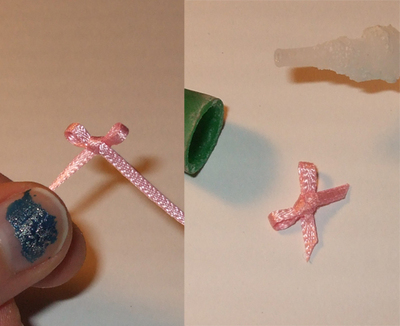 """How to make a toy necklace. And Mary's """"What's The Story, Winston?"""" Necklace - Step 2"""