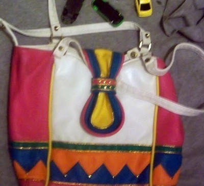 How to make a recycled bag. License Plate Purse - Step 1