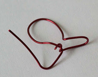 How to make a ring. Wire Heart Finger Ring Diy - Step 10