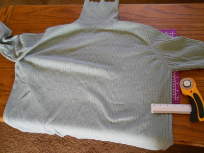 How to sew a ruffle skirt. Ruffle Bustle Skirt - Step 1