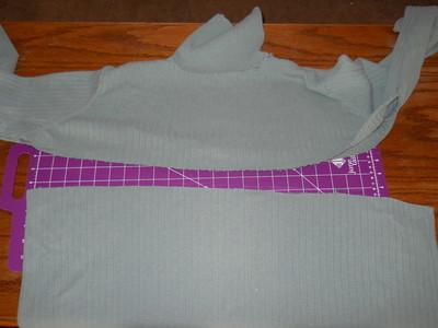 How to sew a ruffle skirt. Ruffle Bustle Skirt - Step 2